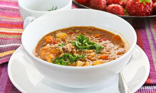Машхурда - омолаживающий суп с машем, особенно актуален дамам за 40!