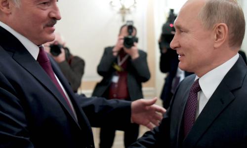 Лукашенко встретится с Путиным в Санкт-Петербурге