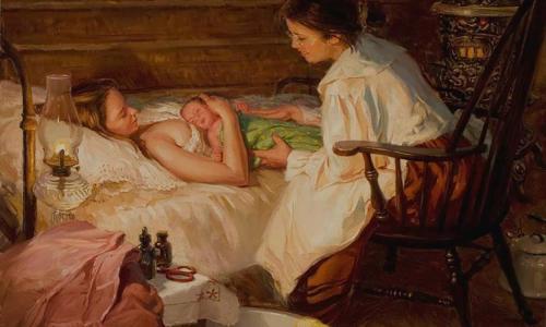 На чем, согласно русским поверьям, нельзя сидеть беременной женщине