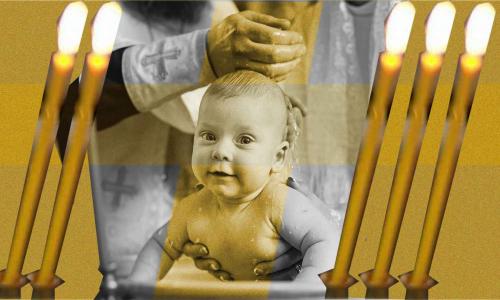 Священник рассказал о грехе родителей при крещении ребенка