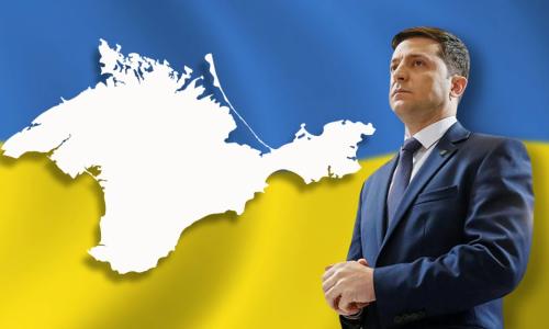 Зеленский назвал возвращение Крыма вопросом времени