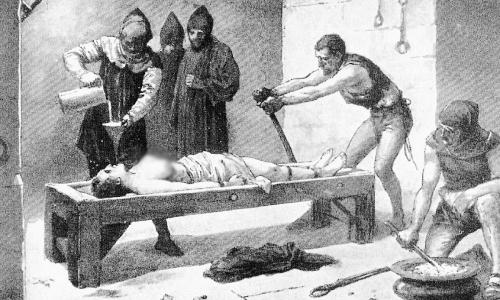 Какие пытки были специально придуманы для женщин
